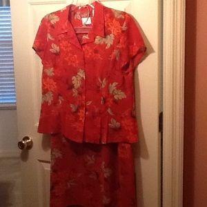 Dress 2 piece 14P